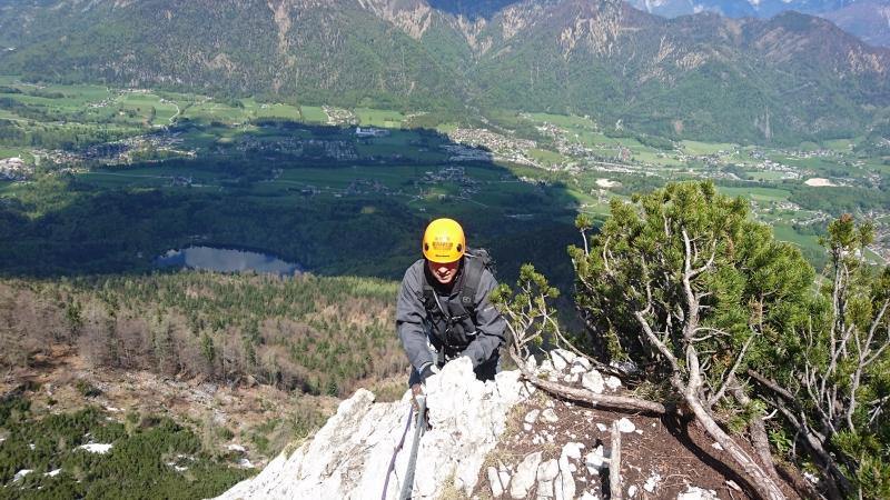 Klettersteig Katrin : Klettersteig katrin