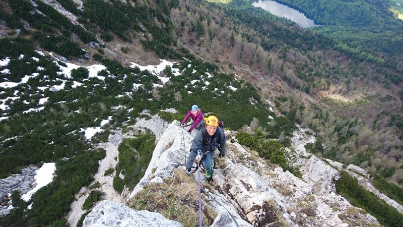 Klettersteig Katrin : Bergfex salzkammergut wir klettern zur katrin klettersteig